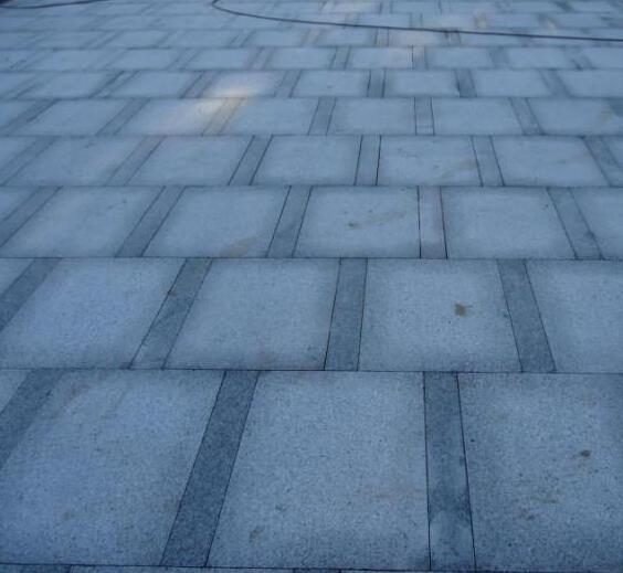 灰麻广场铺路石