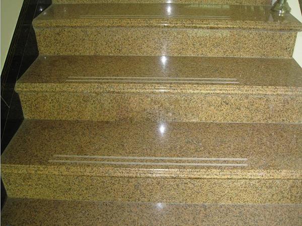 黄锈石楼梯踏步板